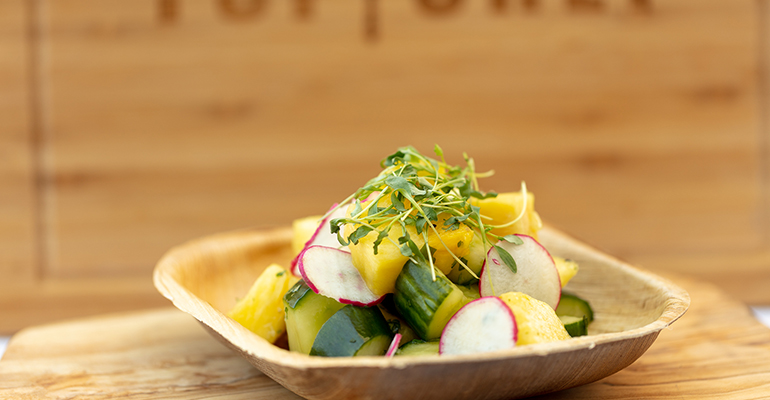 Pineapple Cucumber Salad with Top Chef Board.jpg