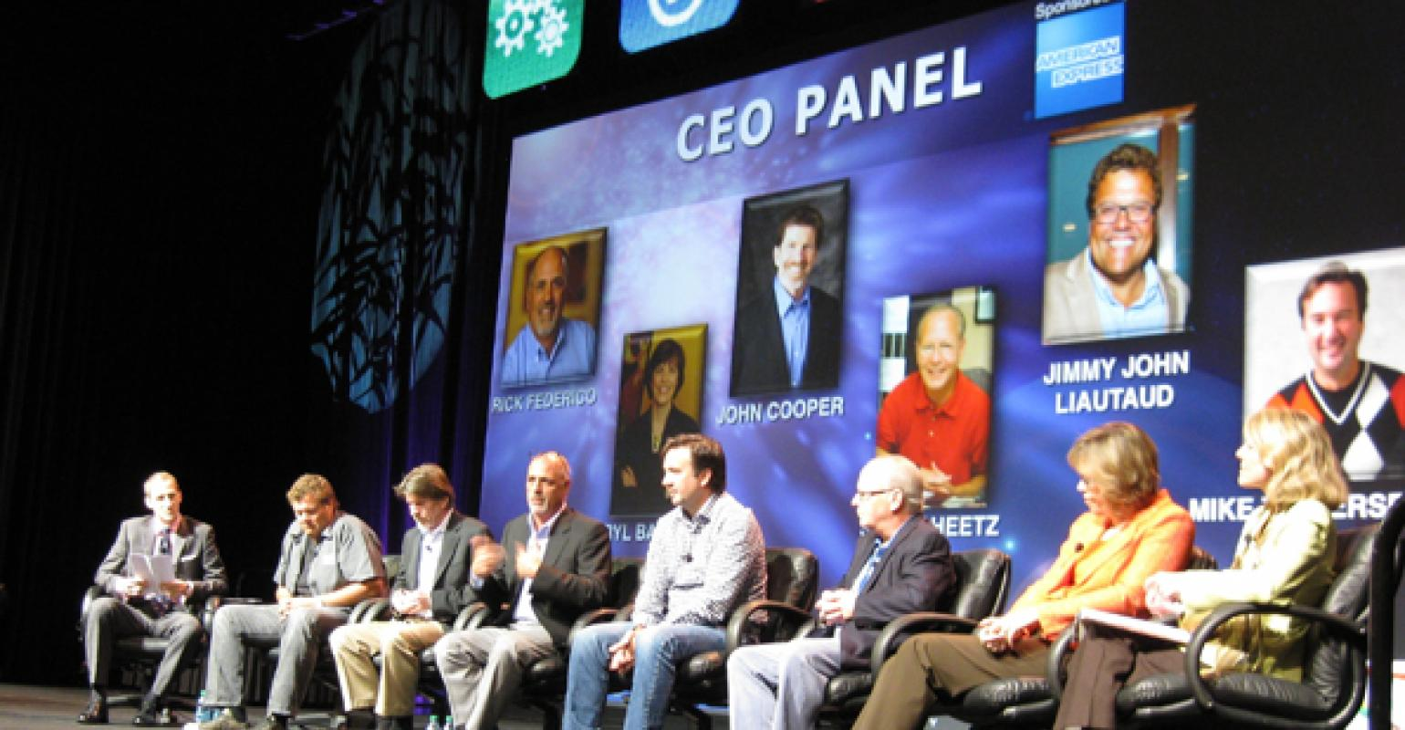 Mufso 2012 Industry Leaders Talk Menu Labeling Economy Food Management