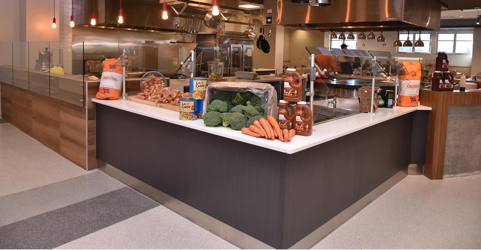 College S New Dining Hall Offers Something For Everyone Food Management
