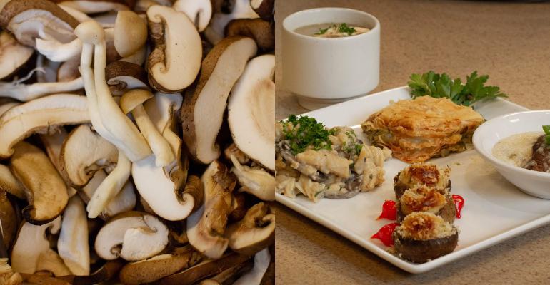 UNT chefs make mushroom magic
