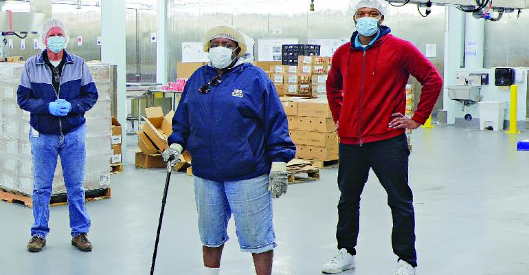 Betti Wiggins and the Houston ISD Nutrition Services team.jpg