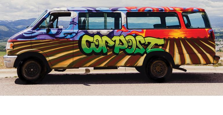 Compost Van At Montana Gets A Cool New Street Style