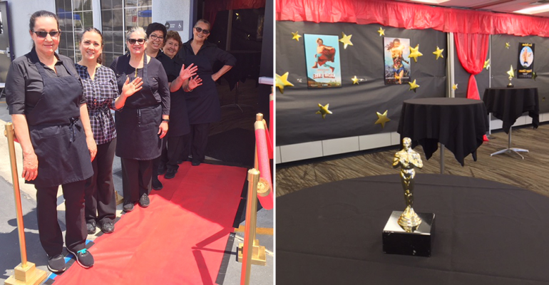 El Monte Schools' catering rolls out red carpet for retirees