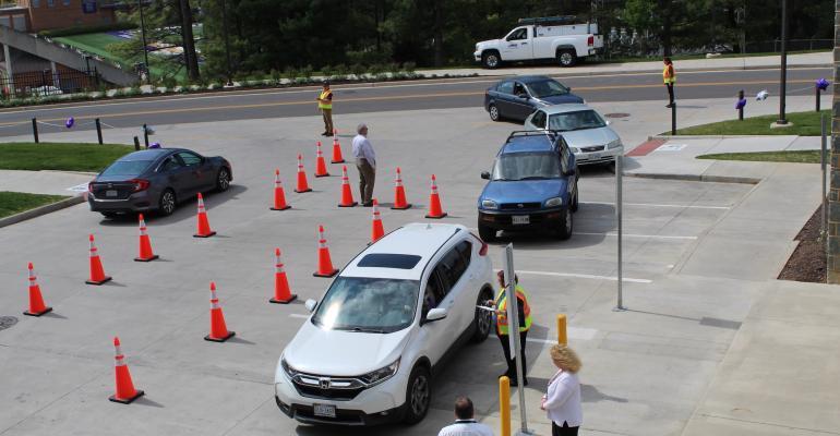 JMU Drive Thru line of cars.jpg