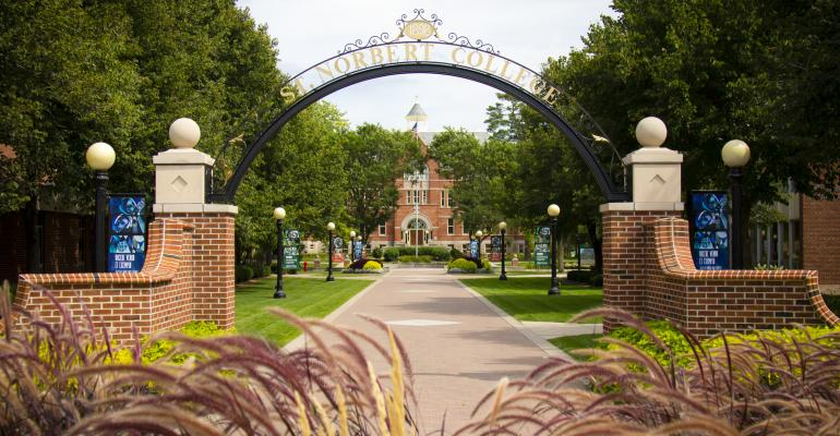 St Norbert College gate.jpg