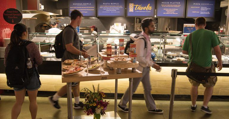 Joanne Weir's fresh new Mediterranean concept Tavola at UMass