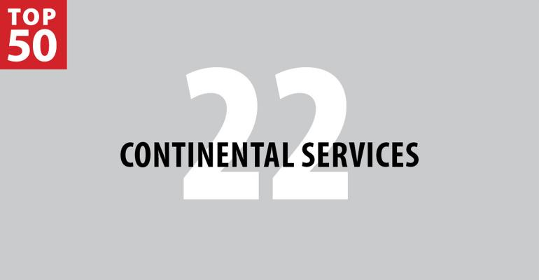 2019 FM Top 50: 22. Continental Services