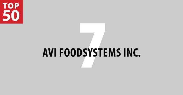 2019 FM Top 50: 7. AVI Foodsystems Inc.