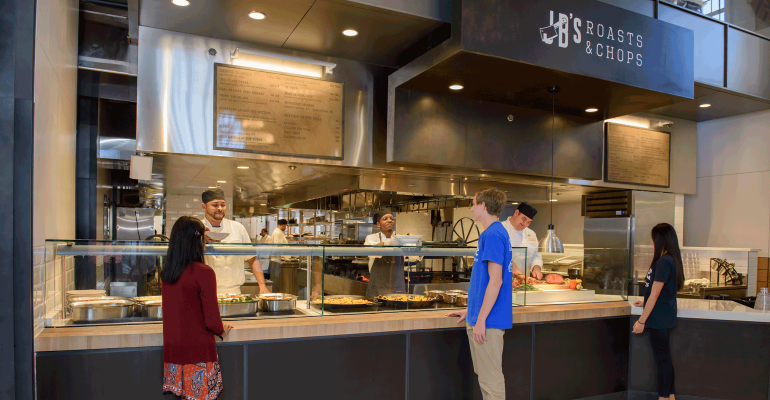 Duke Requires All Vendors To Offer 5 Meal Option Food Management