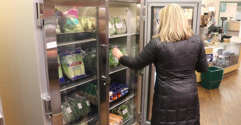 Hospital opens micro grocery to benefit staff