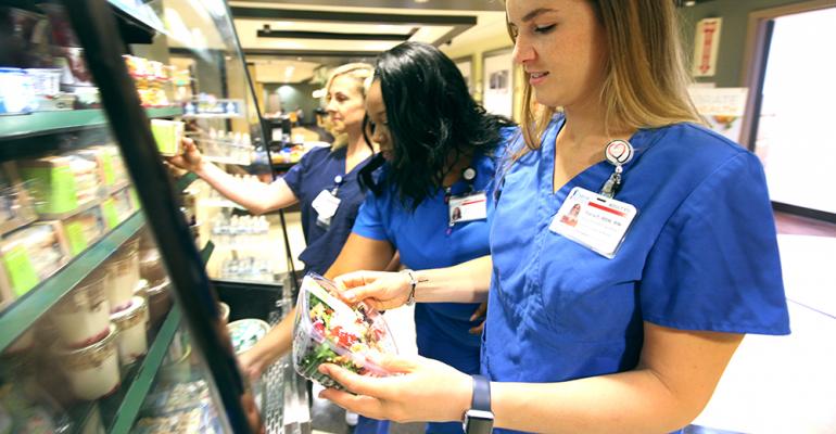 Pilot program triples nurses' produce consumption