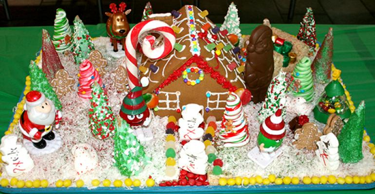 Gingerbread Houses Show Onsite Dining Creativity