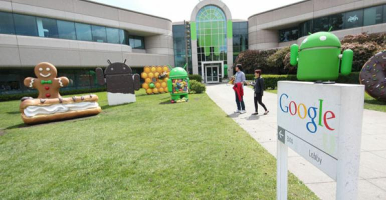 A Walk-Through Tour of Google's HQ Dining