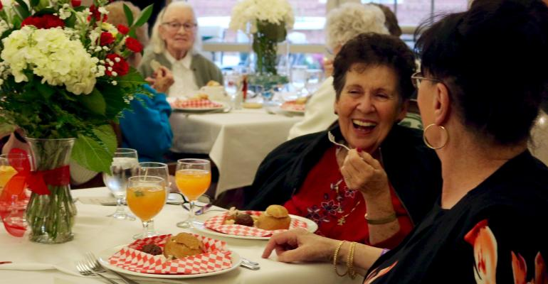 Best Special Event: Every Menu Has a Story at Senior Living Communities