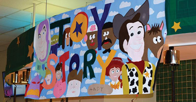 """University of New Hampshire's """"Toy Story"""" event"""