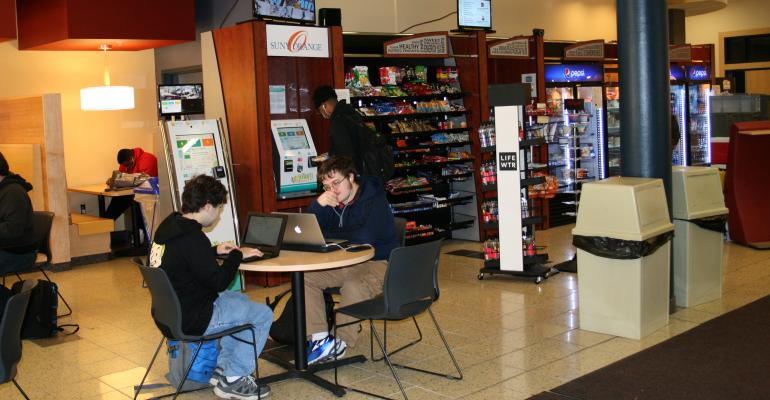 College's kiosks paying off