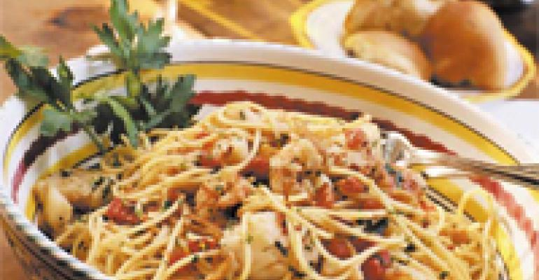 Regional Italian Recipes and Dishes Offer Popular Authenticity to Onsite Customers