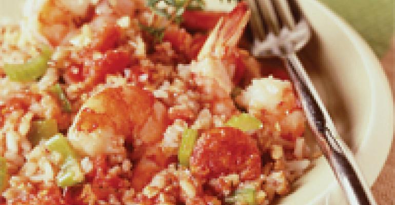 Kasha and Shrimp Salad