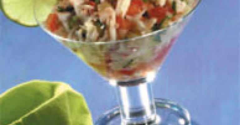 Phillips Crab Ceviche