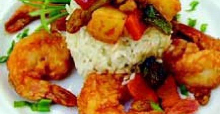 Five-Flavor Shrimp