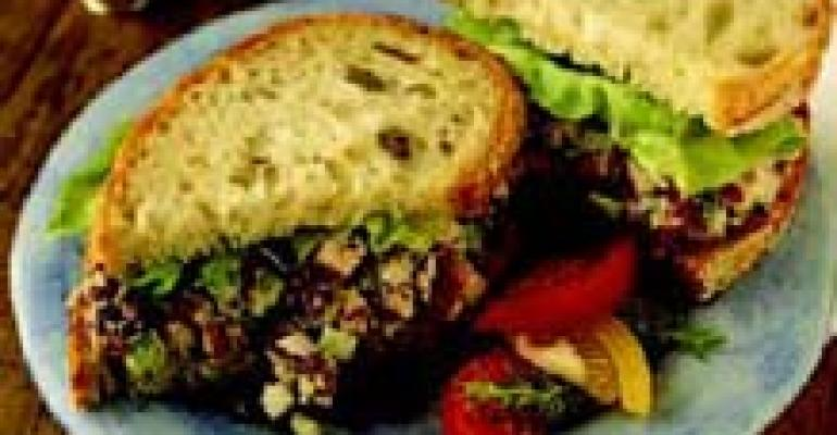 Smoked Chicken Salad with Onions and Dried Cherries