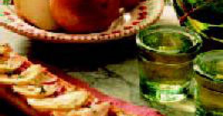 Crusty Onion Bruschetta