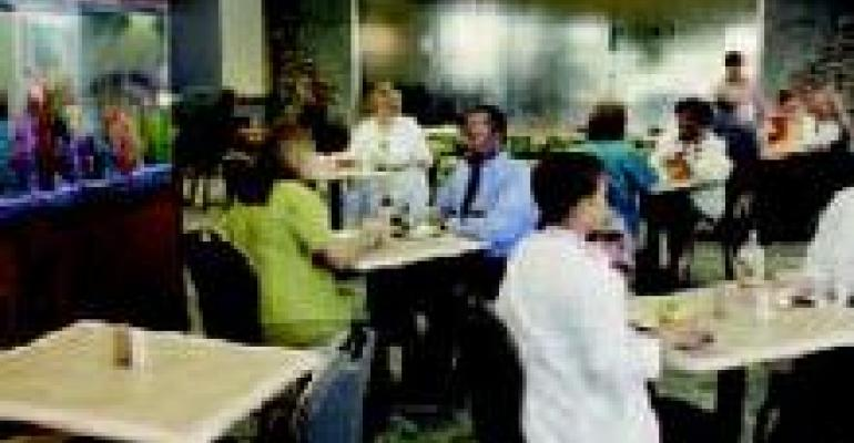 New Cafe, Snack Stations  at Indy Hospital