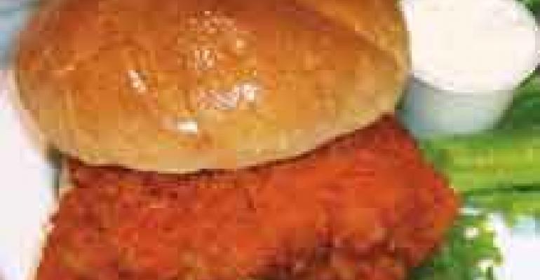 Buffalo Chicken Breast Sandwich