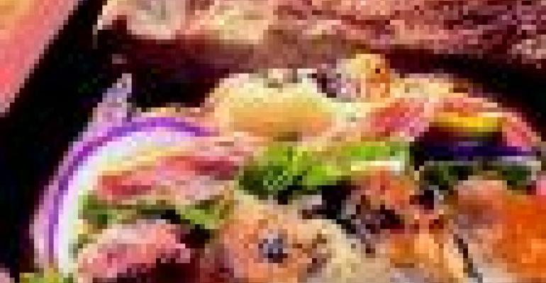 Artisan Salmon Sandwich