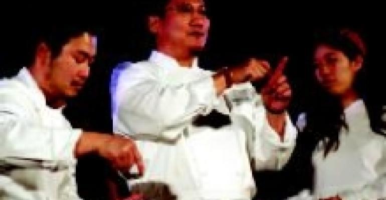 Iron Chef at Stony Brook Univ.