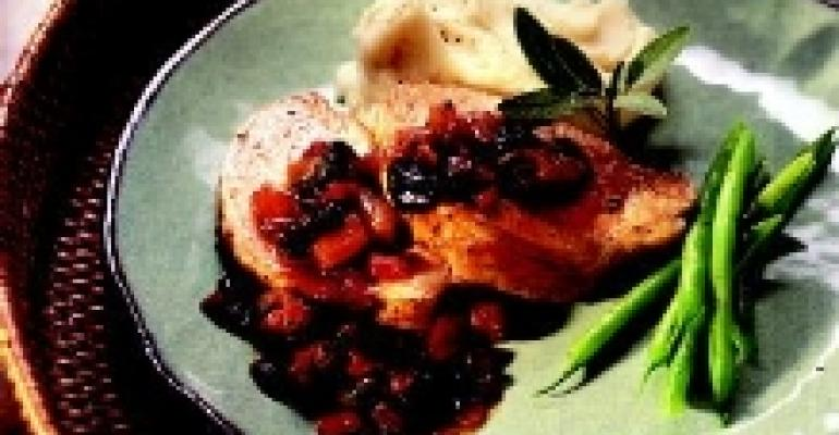 Pineapple and Cherry Chutney