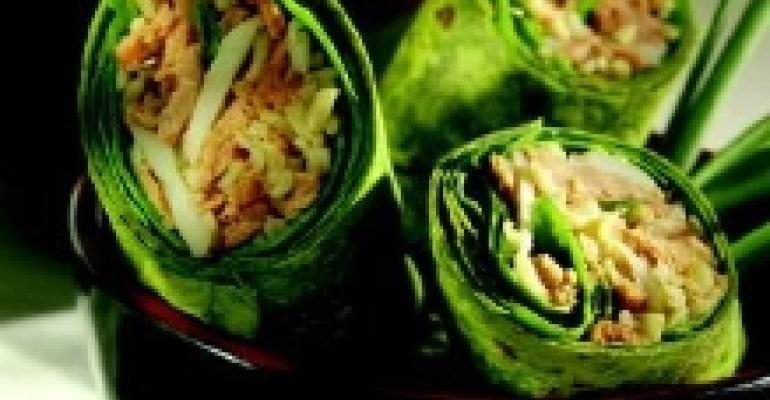 Salmon Sushi Wraps