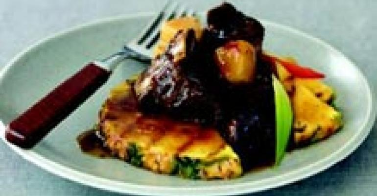 Pineapple Beef Short Ribs