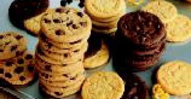 Reduced-fat cookie