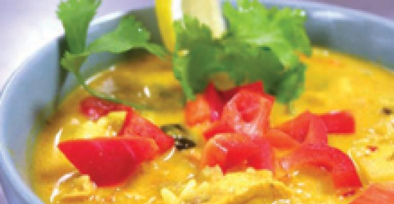 Indian Chicken Curry Soup