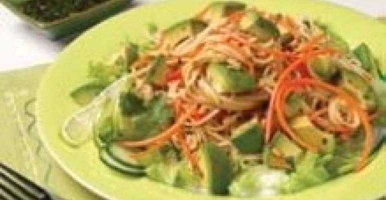 California Avocado Thai Noodle Salad