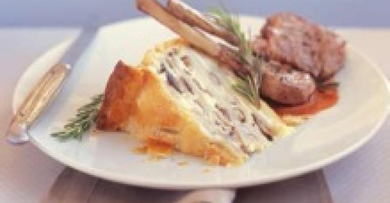 Wild Mushroom Potato Torta