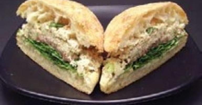 Tuna and Apple Sandwich
