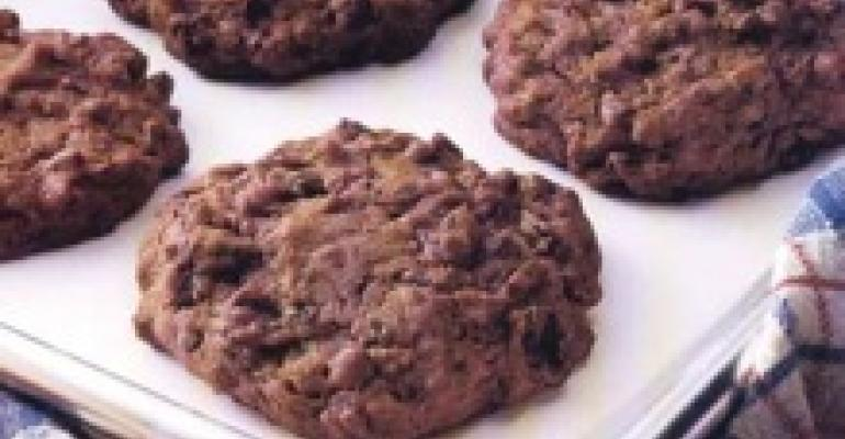 Chewy Chocolate Drop Cookies