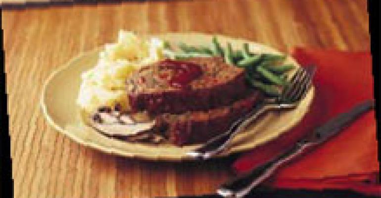 Portobello Meatloaf with Tamarind