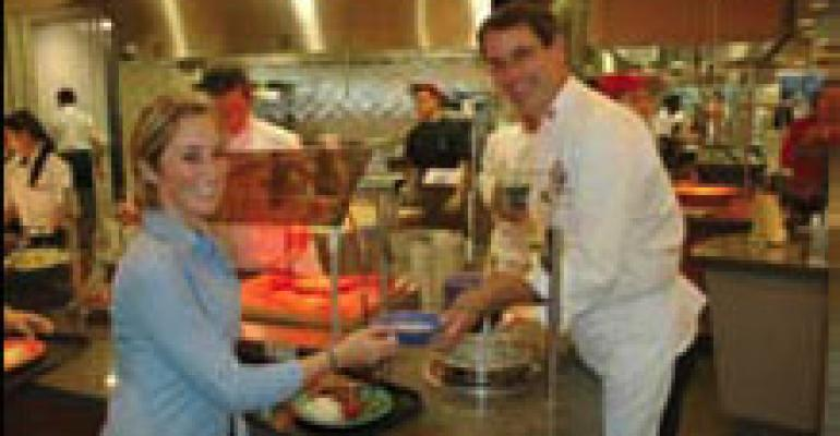 Presidential Chef Cooks at UMass