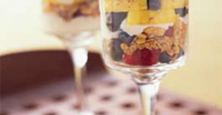 Crunchy Hazelnut Granola Parfait