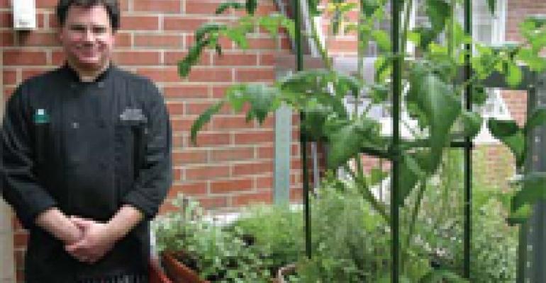 Senior Facility Grows Own Herbs