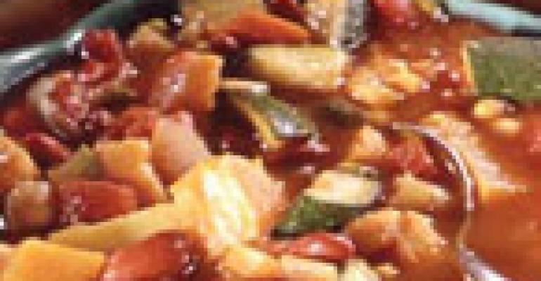 Vegetarian Sweet-Potato Chili