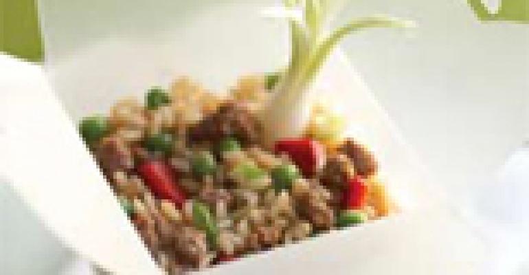Wokkin Beef Fried Rice