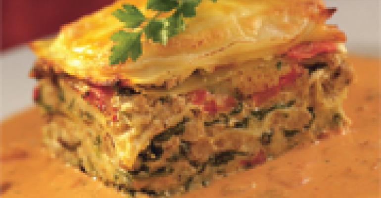 Twisted Turkey Lasagna