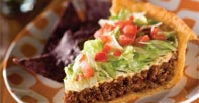 Idaho Potato Shell Taco Pie