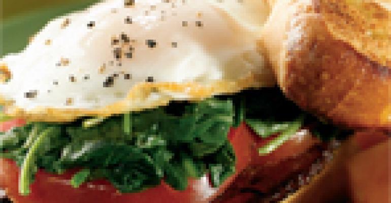 BELT Sandwich (Bacon, Egg, Lettuce & Tomato)