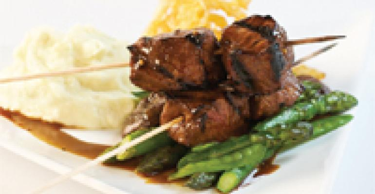 Hibachi Steak Kabobs
