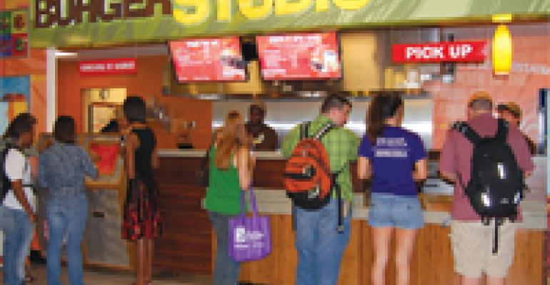 Aramark Debuts Student-Developed Burger Concept